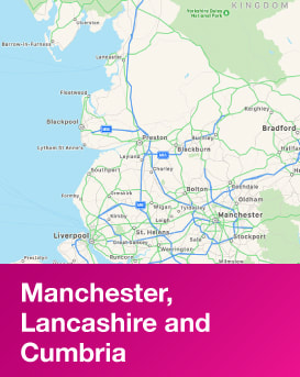 Region | Manchester, Lancashire and Cumbria