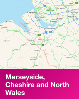 Region | Merseyside, Cheshire and North Wales