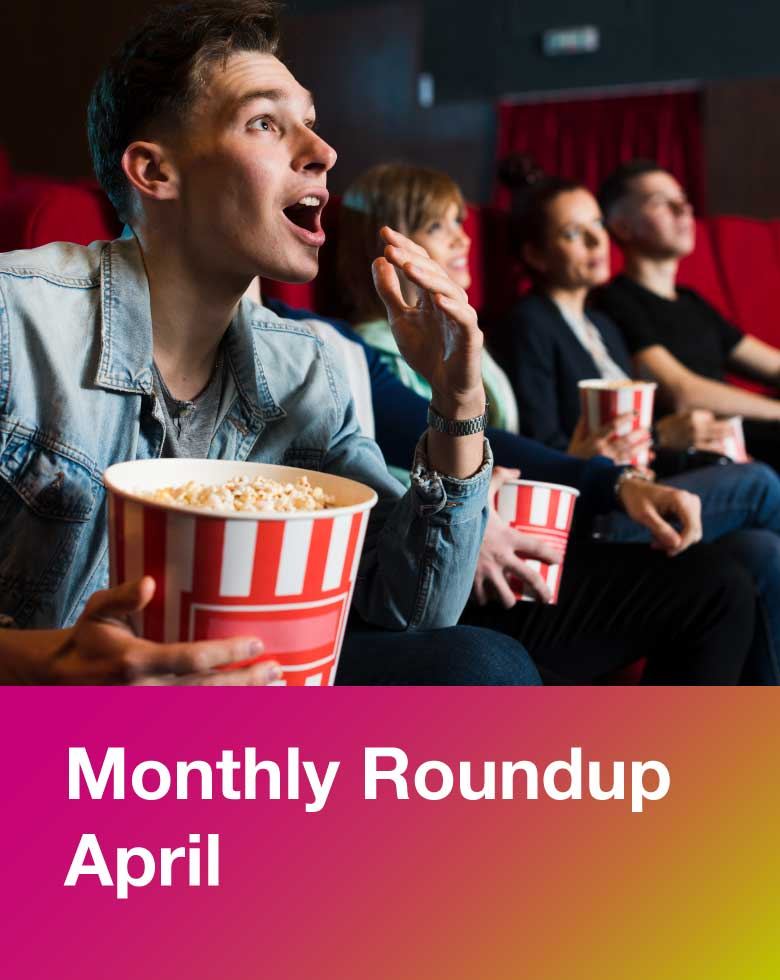 April monthly round up