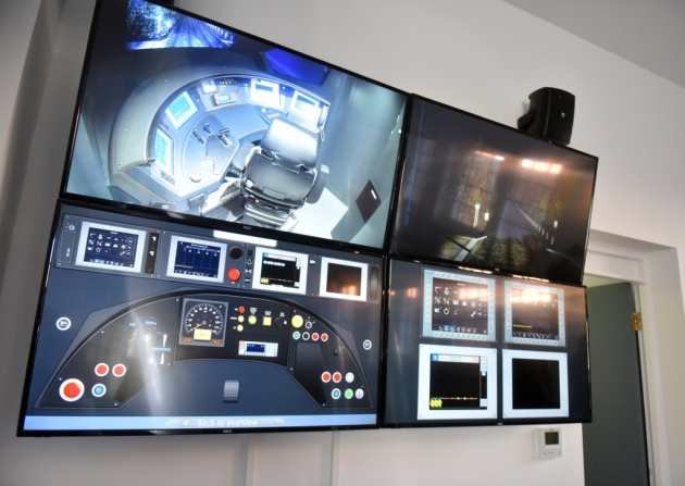Train control simulator