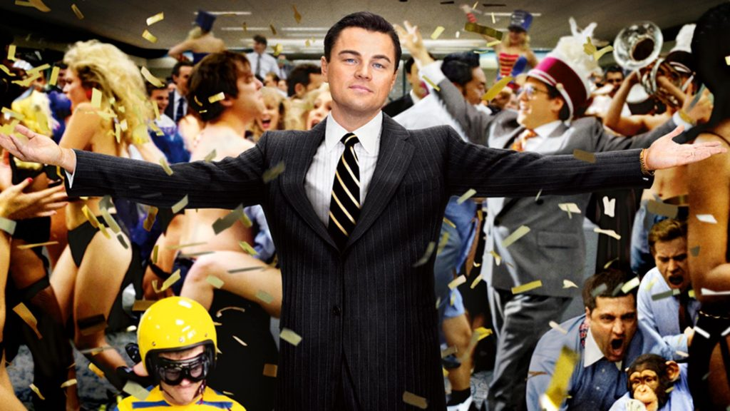Wolf of wallstreet in the office