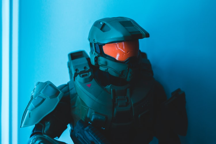 Halo gamer costume