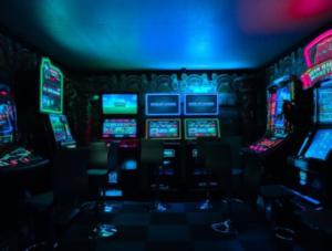 Room of arcade games