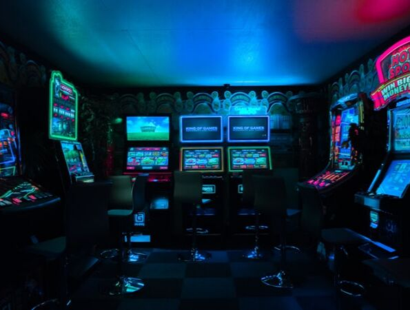 Room of arcade games