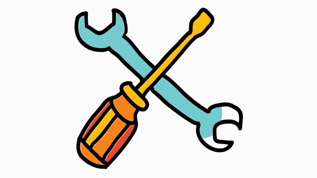 Tools Cartoon