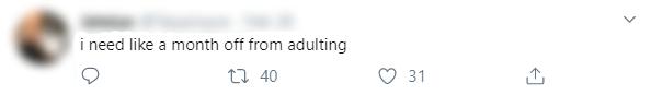 Adulthood Tweet 2 Blur